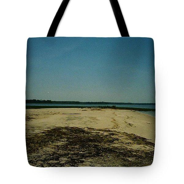 Tote Bag featuring the photograph Rehoboth Bay Beach by Amazing Photographs AKA Christian Wilson