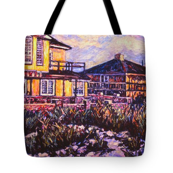 Rehoboth Beach Houses Tote Bag