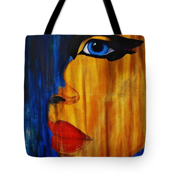 Reign Over Me 3 Tote Bag by Michael Cross