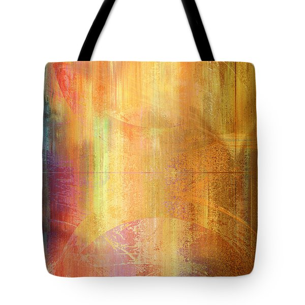 Reigning Light - Abstract Art Tote Bag