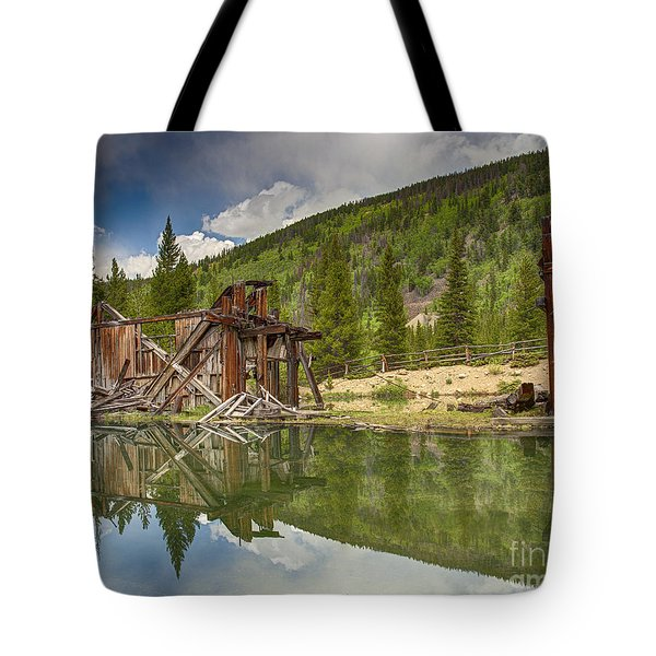 Reiling Dredge Reflection  Tote Bag