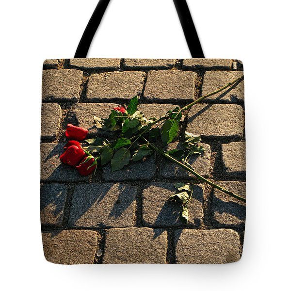 Tote Bag featuring the photograph Rejected by Inge Riis McDonald