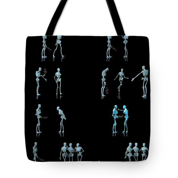 Rejected Robot... Tote Bag by Tim Fillingim