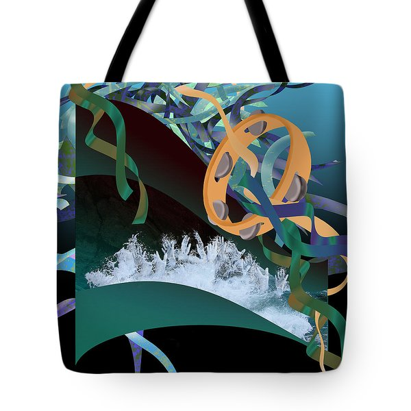 Rejoice In The River Tote Bag by Jennifer Kathleen Phillips