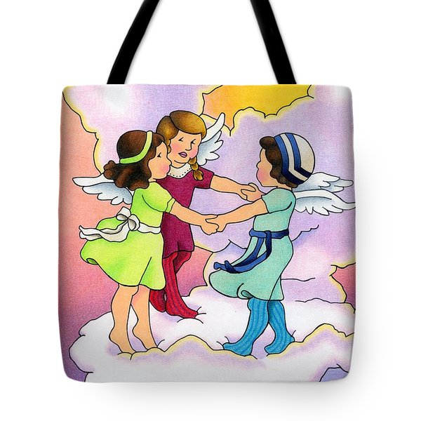 Rejoice Tote Bag by Sarah Batalka