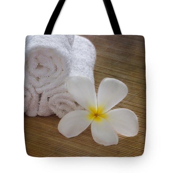 Relax At The Spa Tote Bag