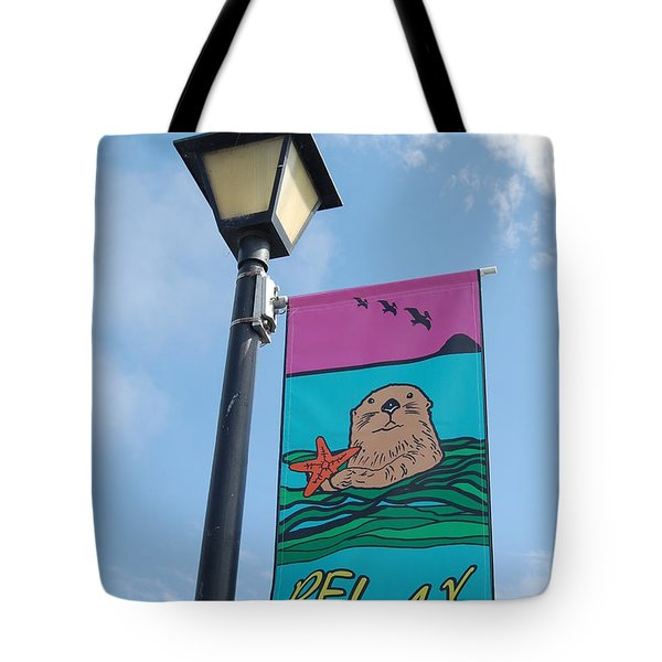 Tote Bag featuring the photograph Relax by Debra Thompson