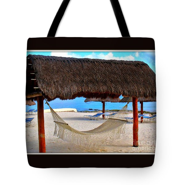 Relaxation Defined Tote Bag by Patti Whitten