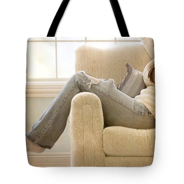 Relaxed Tote Bag by Margie Hurwich