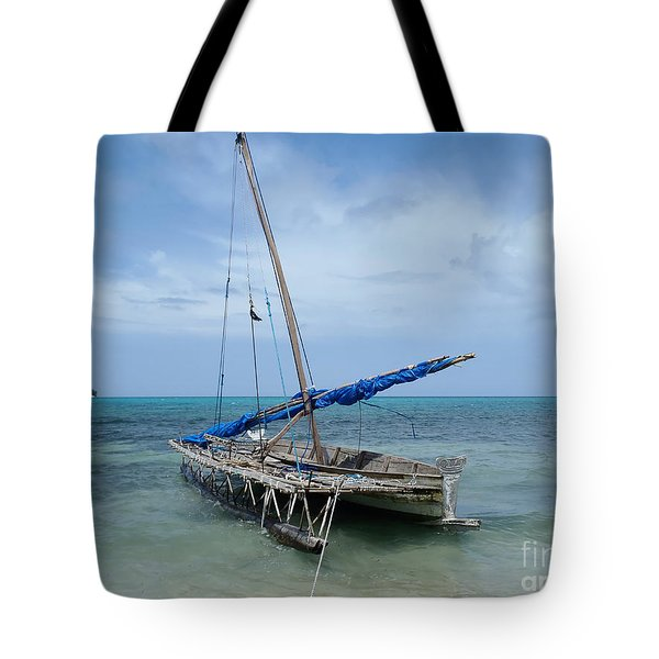 Relaxing After Sail Trip Tote Bag by Jola Martysz