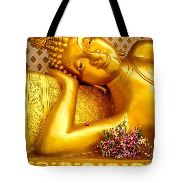 Relaxing Contemplation  Tote Bag by Allan Rufus