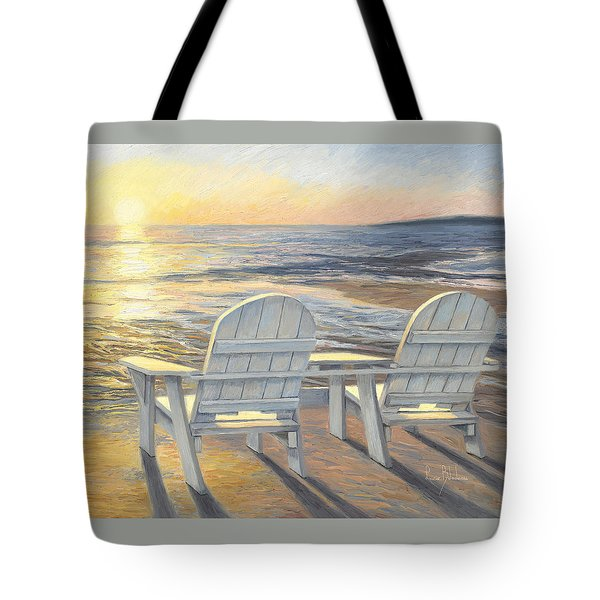 Relaxing Sunset Tote Bag