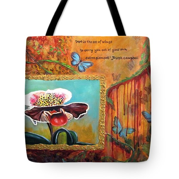 Release -- My Trail Of Tears Tote Bag