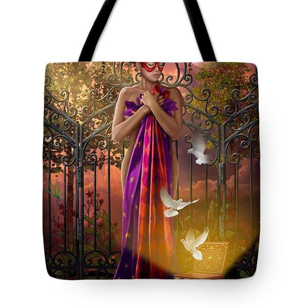 Release Variant I Tote Bag by Ciro Marchetti