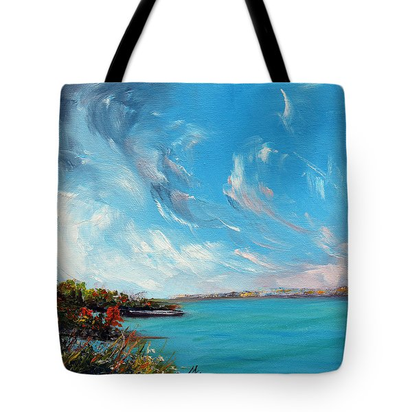 Relentless Grace Tote Bag by Meaghan Troup