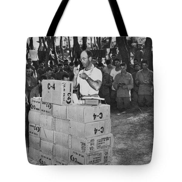 Religion In War Tote Bag