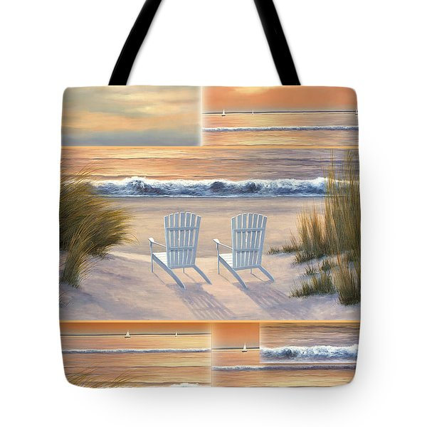 Relocated - Paradise Sunset Tote Bag