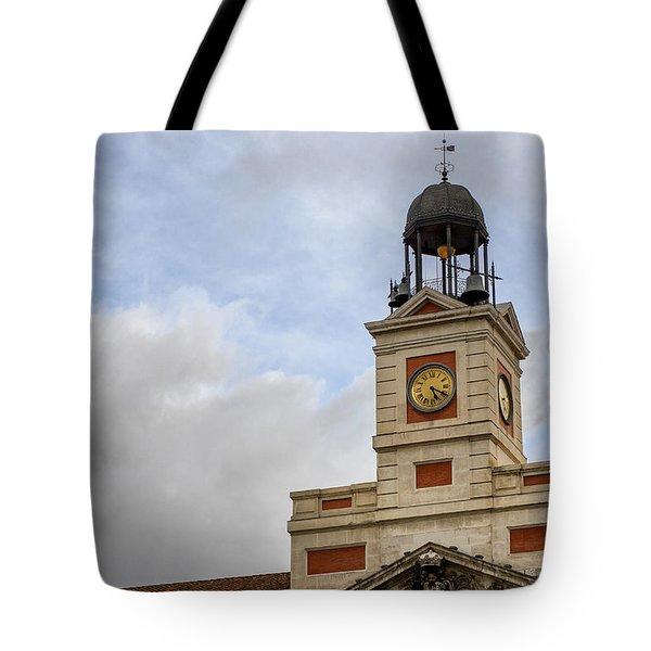 Reloj De Gobernacion 1 Tote Bag