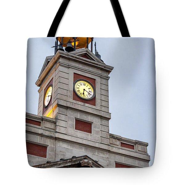 Reloj De Gobernacion 2 Tote Bag