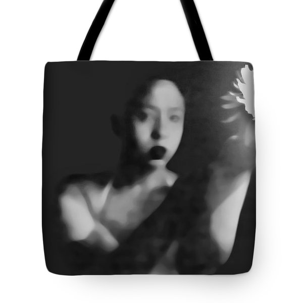 Reluctent To Hold Beauties Glow Tote Bag by Jessica Shelton