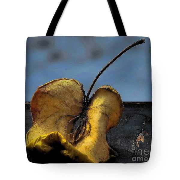 What's Left Over... Tote Bag by Marija Djedovic