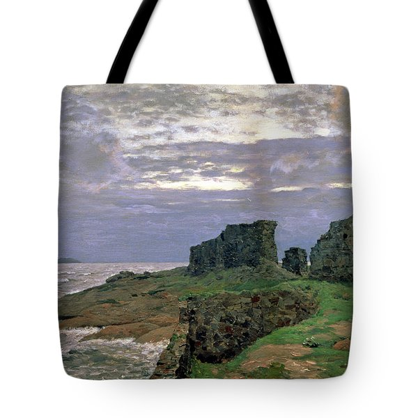 Remains Of Bygone Days Tote Bag by Isaak Ilyich Levitan