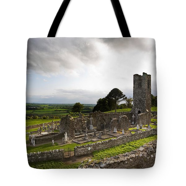 Remains Of The Church On St Patricks Tote Bag