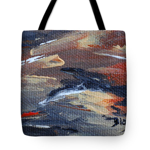 Remains Of The Day Tote Bag by Donna Blackhall