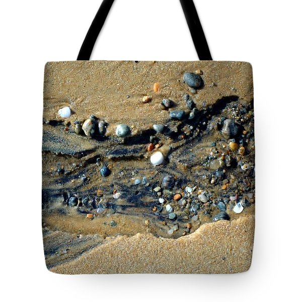 Tote Bag featuring the photograph Remants by Christiane Hellner-OBrien