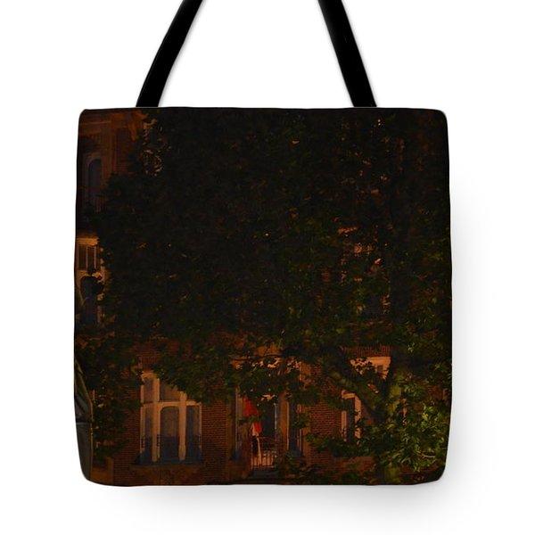 Rembrandt Square Tote Bag