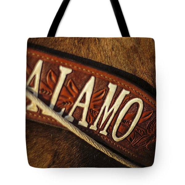 Tote Bag featuring the photograph Remember The Alamo by Amber Kresge