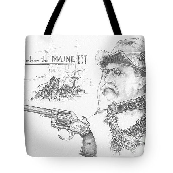 Remember The Maine Tote Bag