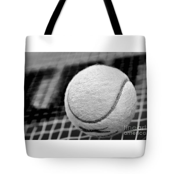 Remember The White Tennis Ball Tote Bag