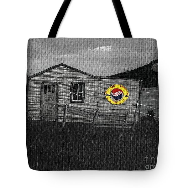 Remember When Old Pepsi Sign 2 Tote Bag by Barbara Griffin