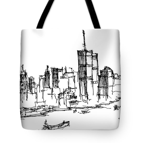 Remember World Trade Center Tote Bag by Jason Nicholas