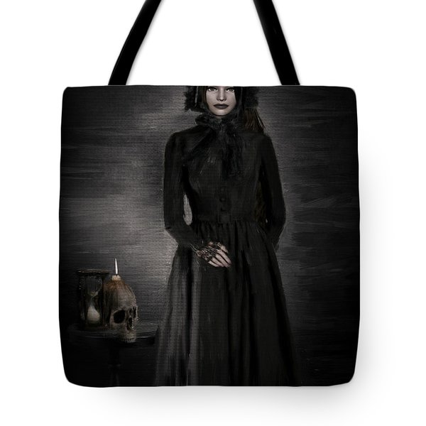 Remember Your Mortality Tote Bag by Lourry Legarde