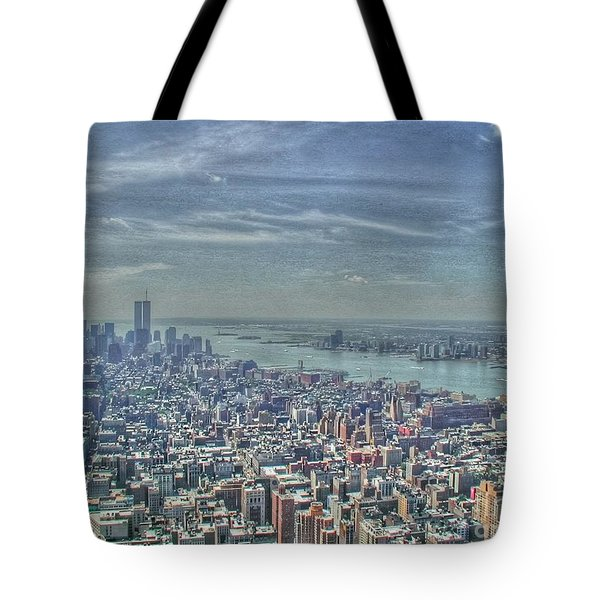 New York Remembering 9/11 Tote Bag