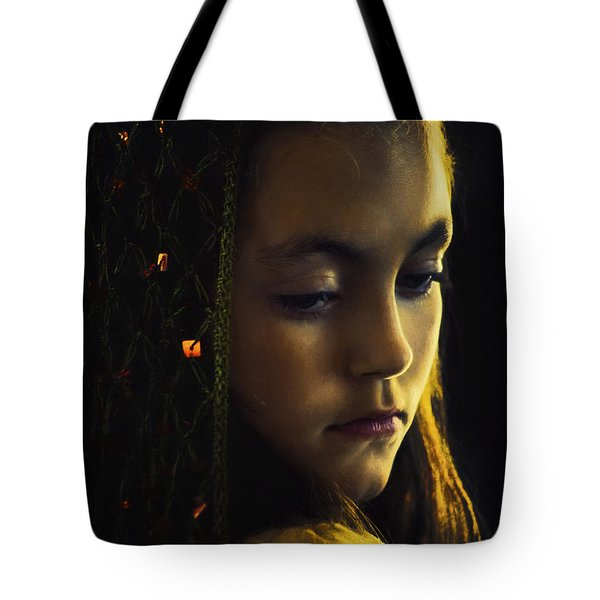Tote Bag featuring the photograph Remembering by John Rivera