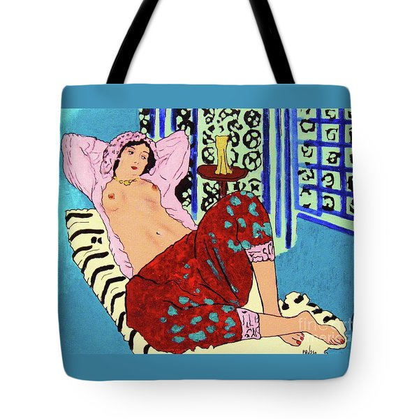 Remembering Matisse Tote Bag