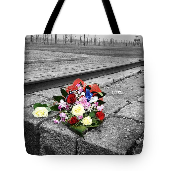 Remembering The Painful Past Tote Bag by Randi Grace Nilsberg
