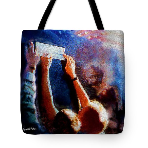 Remembrance Tote Bag by Ted Azriel