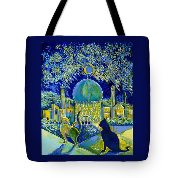 Reminiscences Of Asia. Bed Time Story Tote Bag by Anna  Duyunova