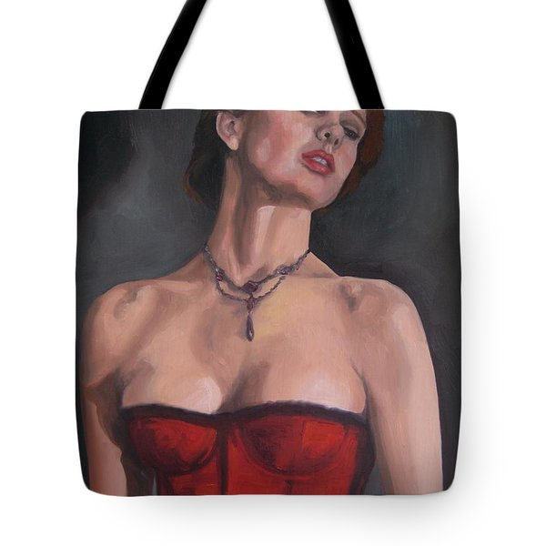 Reminiscent Love Tote Bag by Jindra Noewi