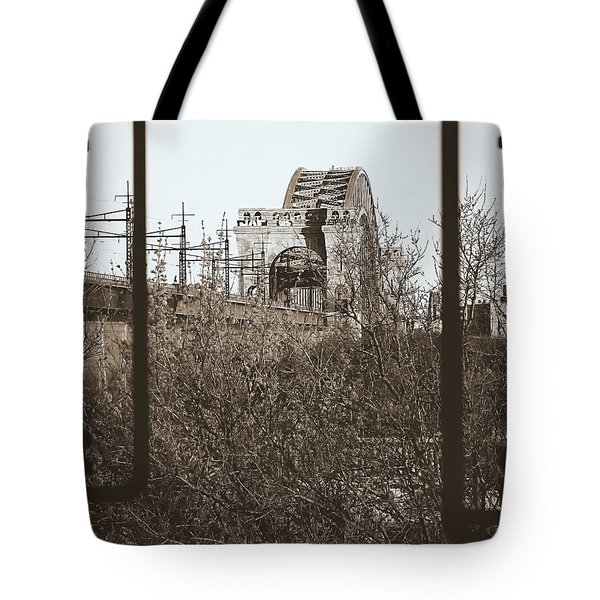 Reminiscent Of Earlier Travel Tote Bag by James Aiken