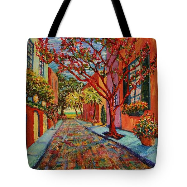 Tote Bag featuring the painting Remnant Of Ancestors by Dorothy Allston Rogers