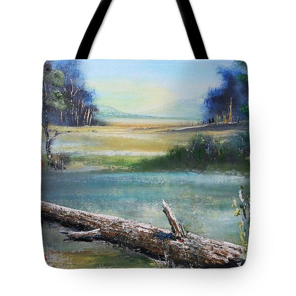 Remnant Tote Bag by Remegio Onia