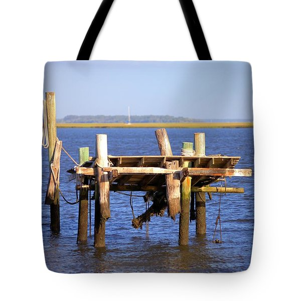 Tote Bag featuring the photograph Remnants by Gordon Elwell