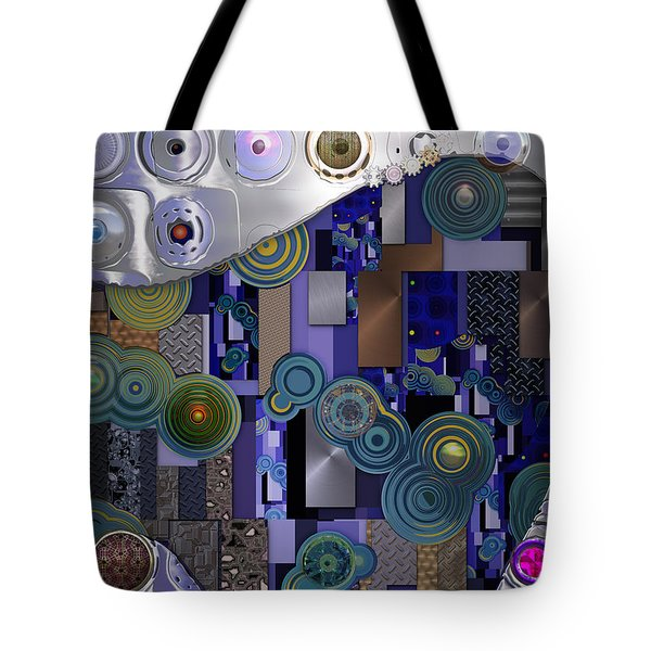 Remodern Dream Abstractor  Tote Bag