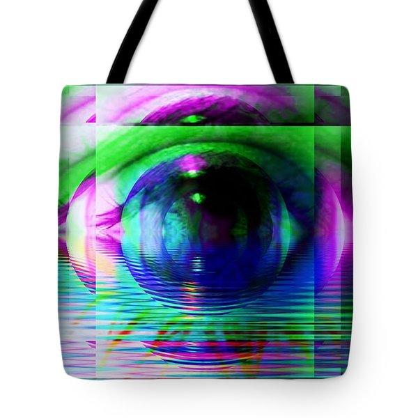 Remote Viewing Tote Bag by Elizabeth McTaggart