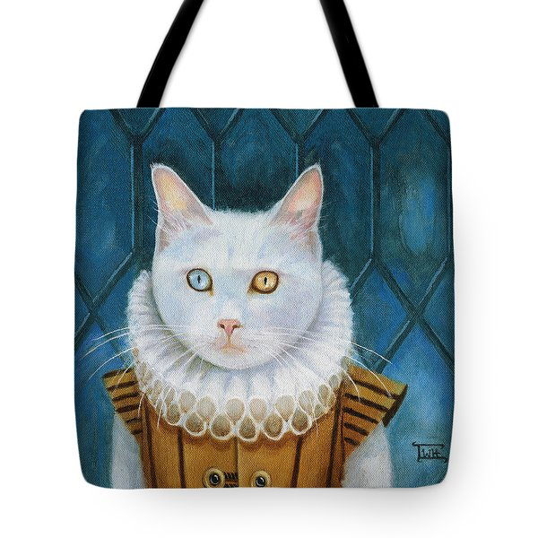 Renaissance Cat Tote Bag